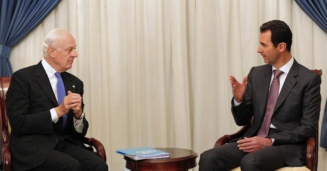 Syria's Assad says UN truce plan 'worth studying'