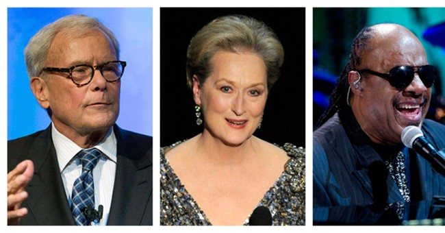Meryl Streep, Stevie Wonder get Medal of Freedom