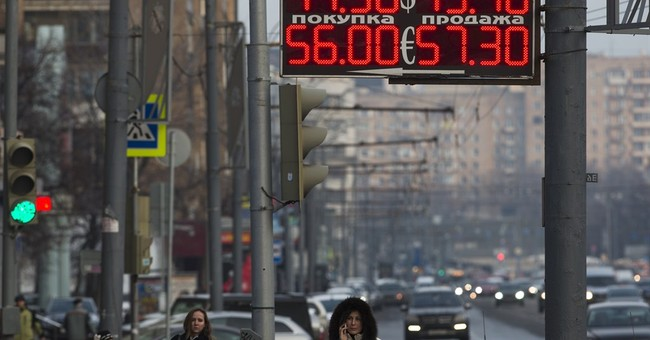 Amid currency gyrations, Russia floats ruble