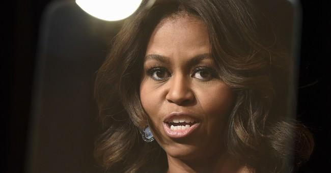 Michelle Obama cheers on women veterans