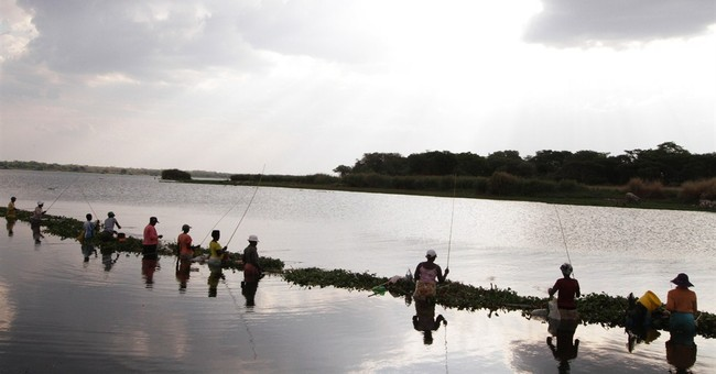 AP PHOTOS: In Zimbabwe, fishing can be a lifeline