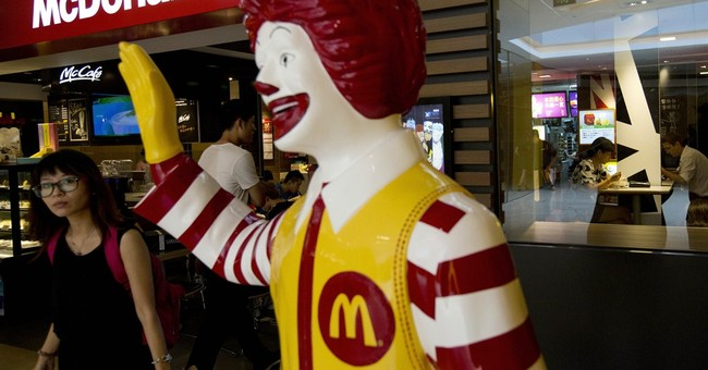 McDonald's key sales figure declines in October