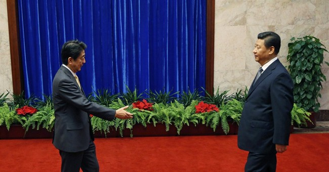 Leaders of China, Japan hold ice-breaking meeting