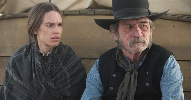 Review: 'Homesman' reverses the Western's course