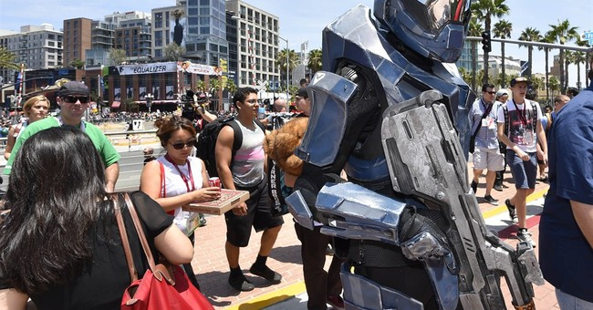 'Halo' fans hail video game series at HaloFest