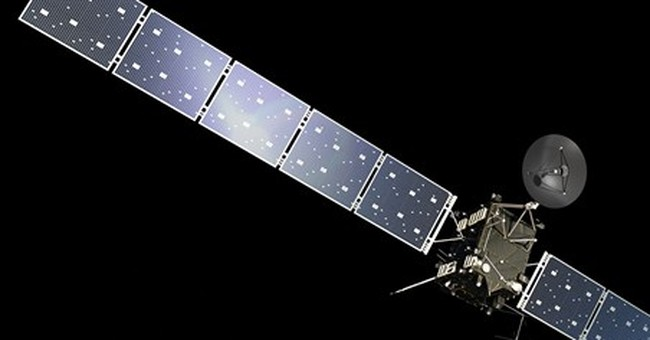 Europe ready to land 1st probe on streaking comet