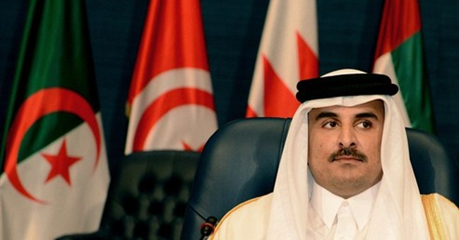 Qatar emir: Airstrikes against IS group not enough