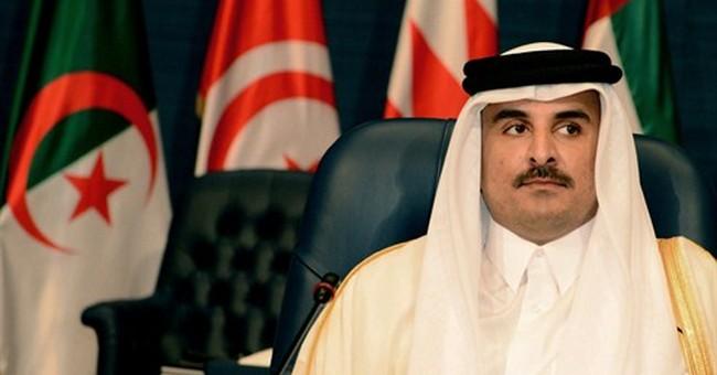 Qatar emir: Airstrikes against IS group not enough