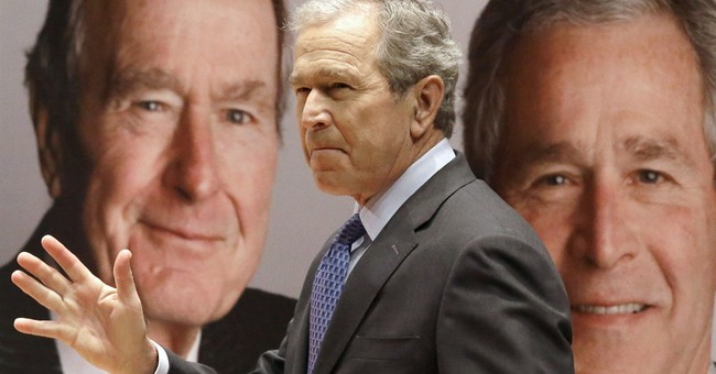 Bush father, son want Jeb Bush run for White House