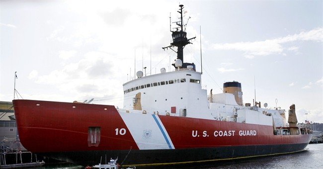 Nation's last big  icebreaker endures despite age