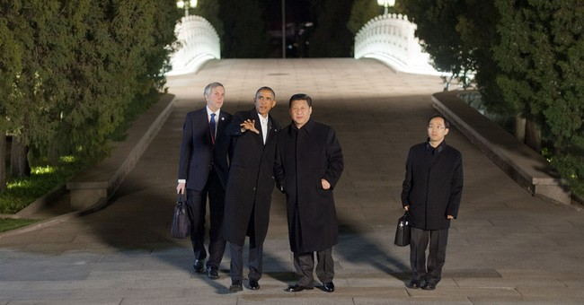 Clarification: Obama-China story
