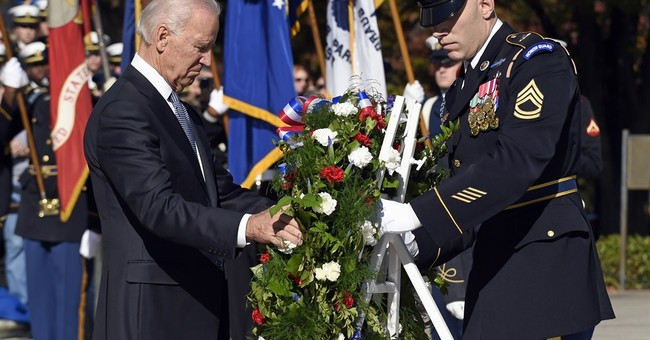 Biden: Military veterans are 'spine of the nation'