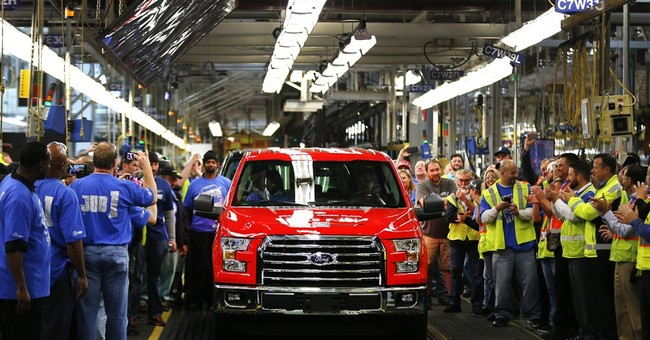 Ford gets the aluminum F-150 ready for prime time