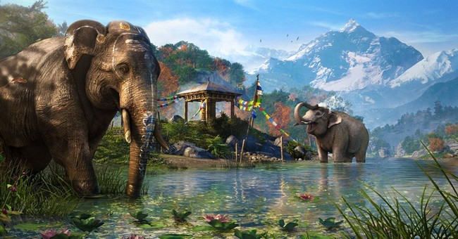 For video games, a trek to more exotic locales