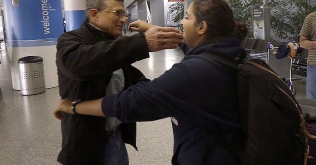 Californians arrive home after Russian detention