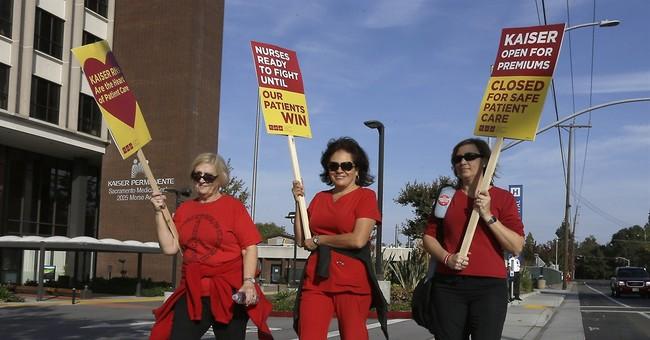 California nurses strike over patient care, Ebola