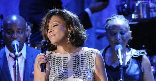 Whitney Houston hologram? You'll have to wait