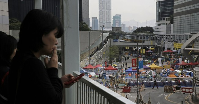 Obama says US had no role in Hong Kong protests