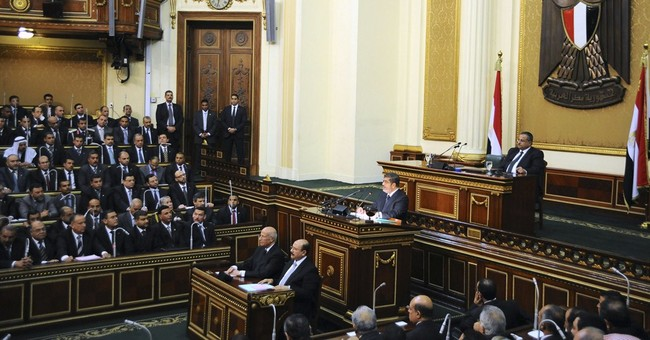 Rubber-stamp assembly expected from Egypt vote