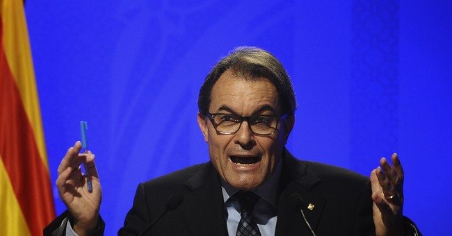 Spanish leader calls Catalan secession vote a flop