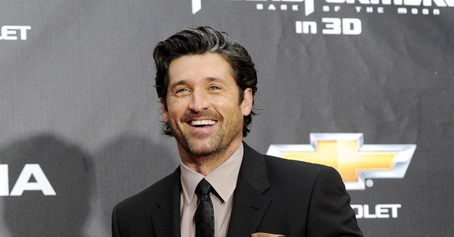 Actor Patrick Dempsey honored for cancer care