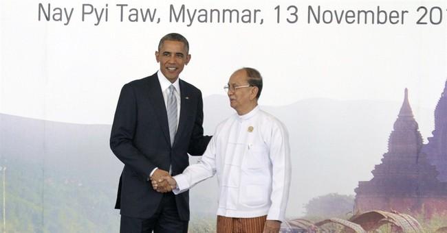 Myanmar troubles jeopardize a big Obama goal