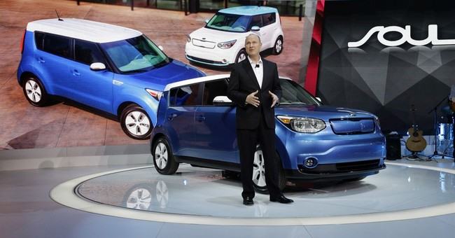 Kia's 'Soulful' first electric car