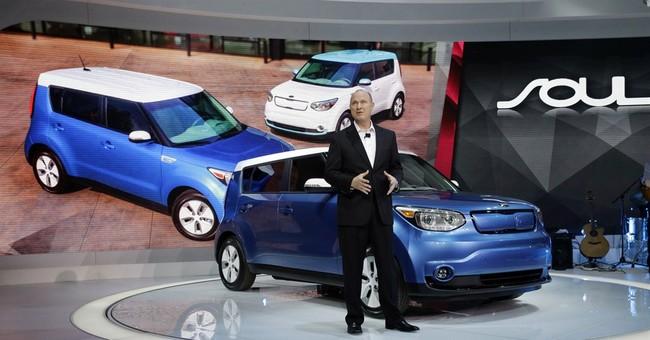 Kia's 'Soulful' first electric car