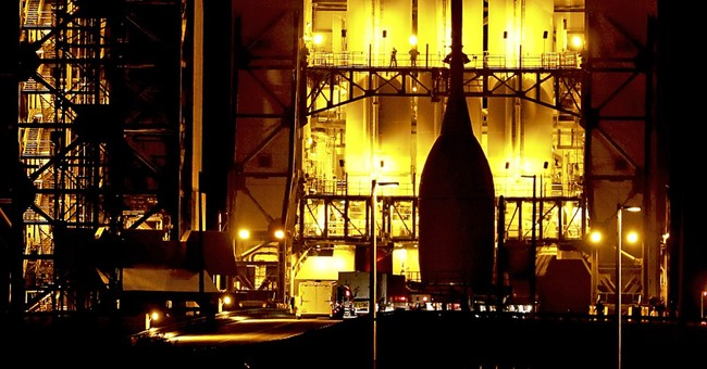 NASA's new capsule at launch pad for test flight