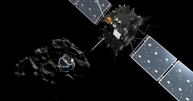 A timeline of comet probe's 10-year journey