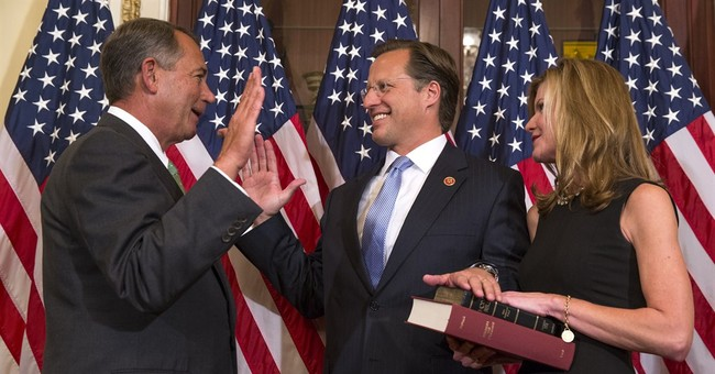 Candidate who upset Cantor takes office early