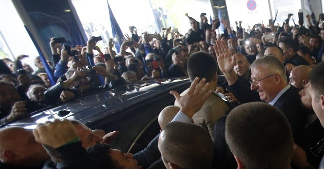 Serb nationalist home after release by UN judges