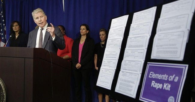 NY prosecutor to fund rape kit testing nationally
