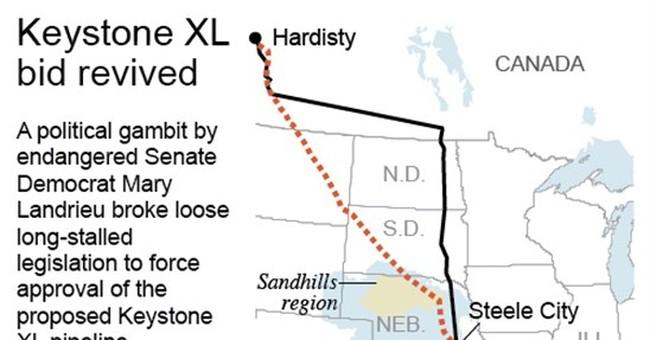 House votes in favor of Keystone oil pipeline