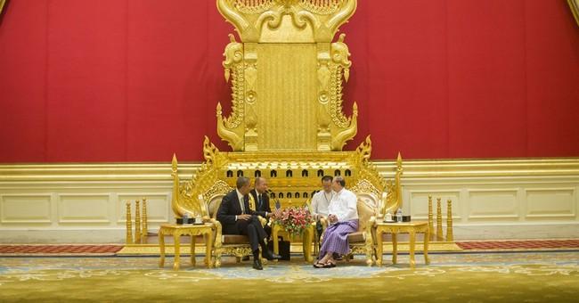 Obama, Suu Kyi meet as Myanmar hero shifts role