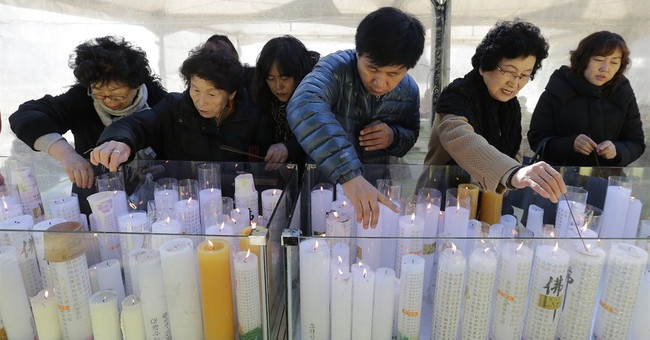 Image of Asia: Praying on exam day in South Korea
