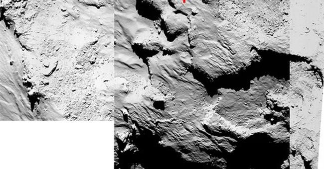 Space agency: Comet lander ends up in cliff shadow