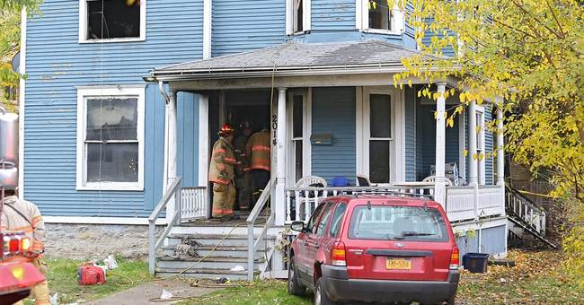 House fire in NY kills 2, including baby; 6 hurt