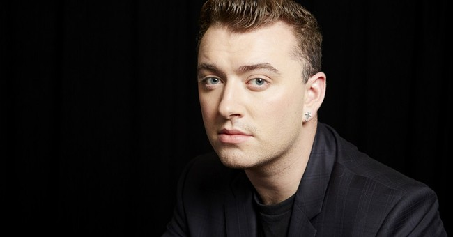 Sam Smith, the sad singer? Not really