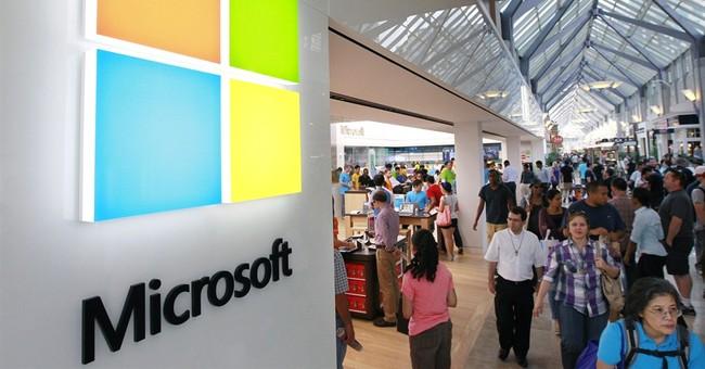Microsoft surpasses Exxon as 2nd most valuable co.