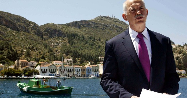 AP PHOTOS: A look at Greece's recession journey
