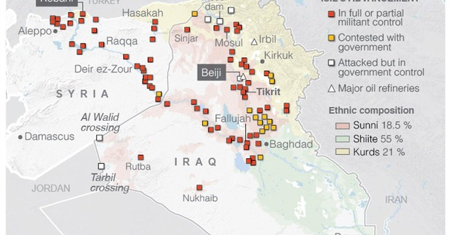 Iraq's forces drive IS militants from key town