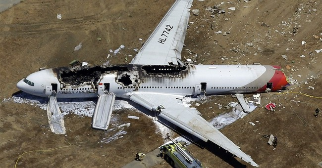 Asiana gets 45-day ban on SF flights over crash