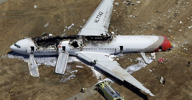 Asiana gets 45-day ban on SF flights over crash
