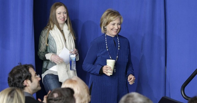 At Clinton center, the past and the future collide