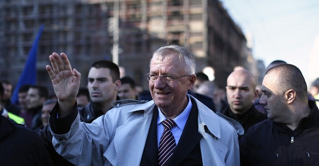 Far-right leader praises Serbia's ties with Russia