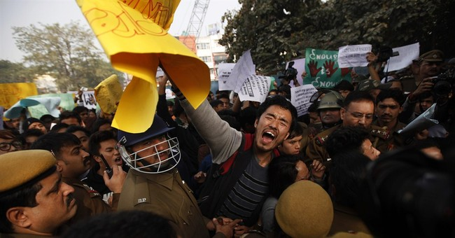 Outcry in Delhi over student's death after beating