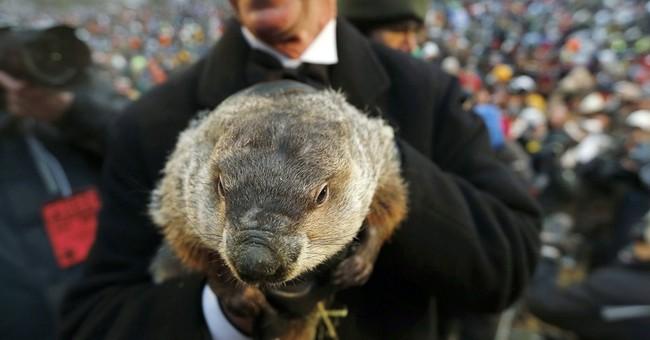 Punxsutawney Phil's day coincides with Super Bowl
