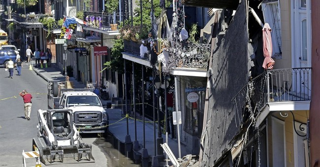 Building collapse in French Quarter frays nerves