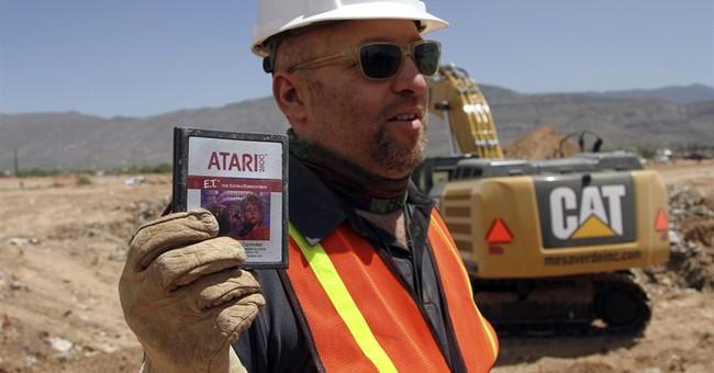 Atari games buried in landfill net $37,000 on eBay